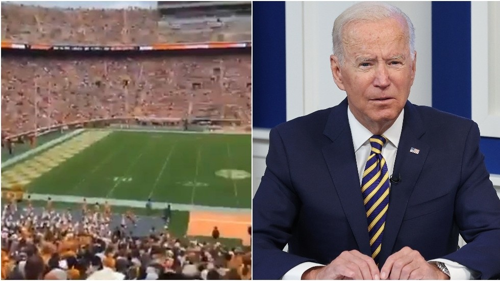 'This is a movement': MORE 'f*ck Joe Biden' chants reported in US college football stadiums (VIDEO)