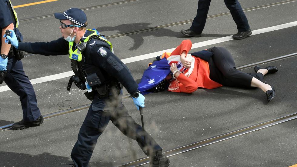 US-Republikaner fordern Sanktionen gegen Australien wegen des Vorgehens der Polizei gegen Demonstranten