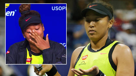Naomi Osaka has been knocked out of the US Open © YouTube / US Open | © Geoff Burke / USA Today Sports via Reuters