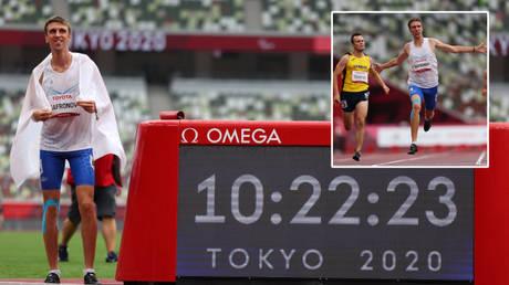Dmitry Safronov beat Ihor Tsvietov (inset, left) to Paralympic gold © Marko Djurica / Reuters | © Ints Kalnins / Reuters