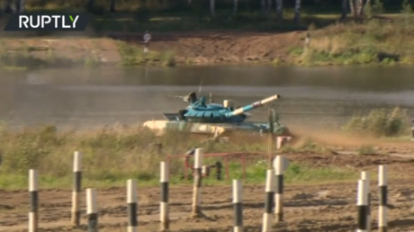 WATCH: Russian squadron beats 18 countries to retain crown at Tank Biathlon World Championships at 7th International Army Games