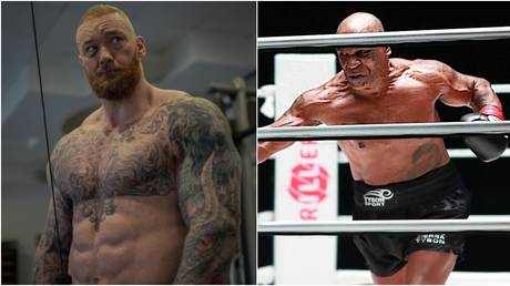 Thor Bjornsson says he would be down to face Mike Tyson. © Instagram @thorbjornsson / USA Today Sports