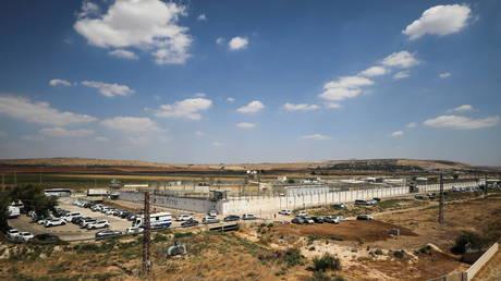 Gilboa prison. © Reuters / AMMAR AWAD