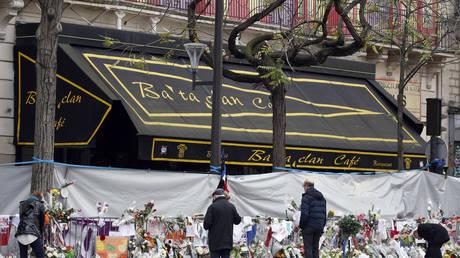 The Bataclan Cafe adjoining the concert hall, Paris (FILE PHOTO) © REUTERS/Charles Platiau
