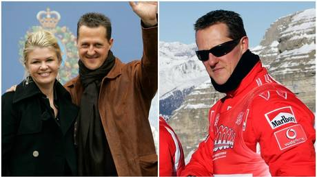 FILE PHOTOS: F1 icon Michael Schumacher and wife Corinna. © Reuters