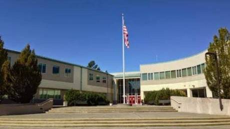 Eastlake High has caused outrage by reportedly canceling a 9/11 football memorial. © Google Maps / Eastlake High School