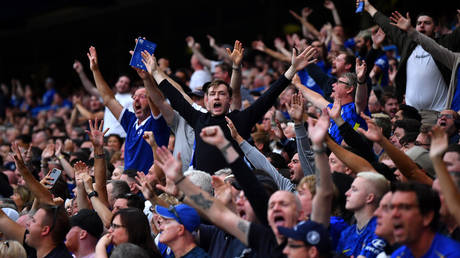 Premier League fans will reportedly need to prove their covid vaccine status to enter grounds from October. © Action Images