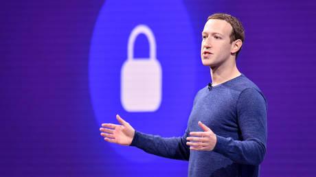 Facebook CEO Mark Zuckerberg. © AFP / JOSH EDELSON