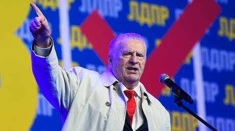Leader of the Liberal Democratic Party of Russia (LDPR) Vladimir Zhirinovsky. © Sputnik / Maksim Blinov