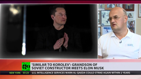 , 'Every day SpaceX people walk past photo of my grandad': Descendant of Sergey Korolev talksto RT about meeting Elon Musk (VIDEO),