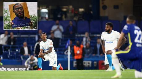 'Who is George Floyd to our footballers?' Russian ex-FIFA official responds after Zenit foreign stars take knee vs Chelsea