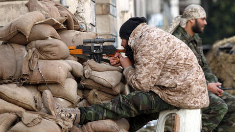 FILE PHOTO. A Libyan soldier. © AFP / ABDULLAH DOMA