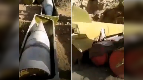 Screenshots from a video published on social media show warheads and ballistic missiles found by the Taliban in the Panjshir valley.