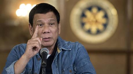 Philippine's President Rodrigo Duterte. © AFP / NOEL CELIS