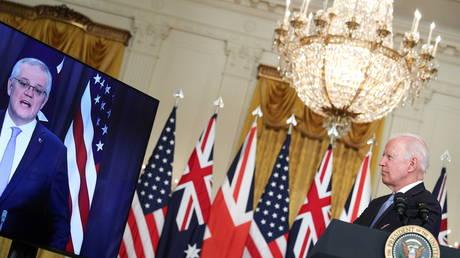 President Biden delivers remark on National Security at the White House. September 15, 2021 © REUTERS/Tom Brenner