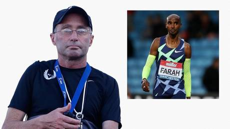 Alberto Salazar trained UK Olympic idol Mo Farah. © Getty Images via AFP / Action Images via Reuters