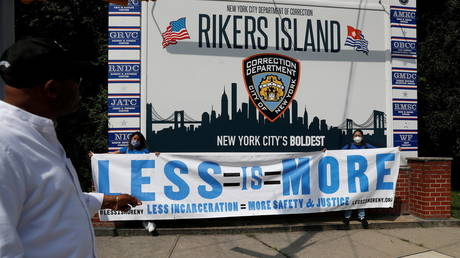 NY gov releases nearly 200 detainees from crisis-ridden Rikers Island jail, where staff shortages saw inmates 'running...