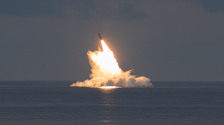 US Navy test-launches life-extended Trident II ballistic missile, amid row over nuclear-powered sub deal with Australia