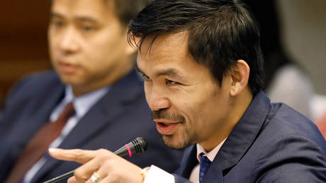 Manny Pacquiao will run for president in the Philippines. © Reuters