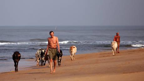 FILE PHOTO. Beach in Goa, India. © INDRANIL MUKHERJEE / AFP