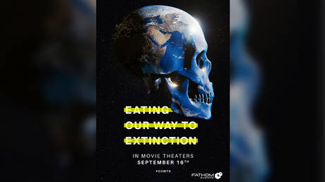 New vegan propaganda movie 'Eating Our Way To Extinction' with Kate Winslet certainly won't make me give up meat & fish