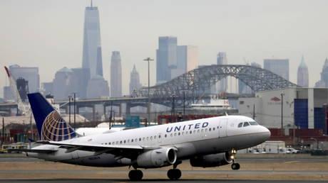Newark Liberty International Airport, New Jersey, US (FILE PHOTO) © REUTERS/Chris Helgren