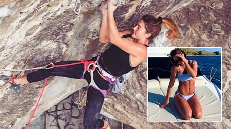 Climbing star Johanna Farber © Instagram / _yohoney_