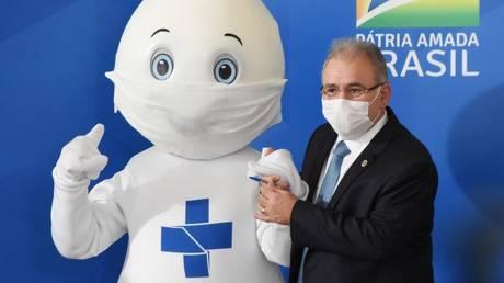 Brazil's health minister Marcelo Quiroga © Twitter / Marcelo Queiroga