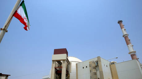 A picture shows the reactor building at Bushehr nuclear power plant in southern Iran on August 21, 2010 © AFP / Atta Kenare