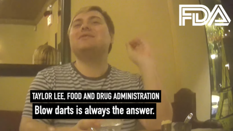 FDA economist Taylor Lee speaks to a Project Veritas reporter in a screenshot from a YouTube video published September 23, 2021 © YouTube / Project Veritas