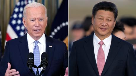 (L) President Joe Biden. © AP Photo / Evan Vucci; (R) Chinese President Xi Jinping. © AP Photo / Carolyn Kaster;