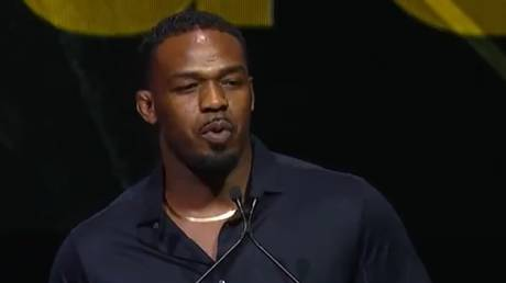 Jon Jones had a run-in with the law not long after his UFC induction ceremony. © Twitter @ufc