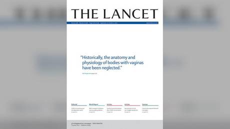 The September 25, 2021 cover of The Lancet, Volume 398 Number 10306