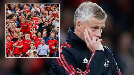 Ole Gunnar Solskjaer is under pressure from some Man United fans © Jason Cairnduff / Action Images via Reuters | © Phil Noble / Reuters