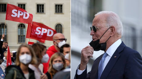 Biden on SPD narrowly winning the German election: 'I'll be darned! They are solid'