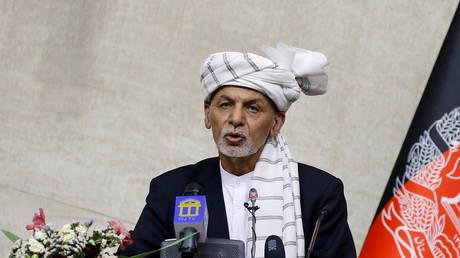 Former Afghan President Ashraf Ghani (FILE PHOTO) © REUTERS/Stringer/File Photo