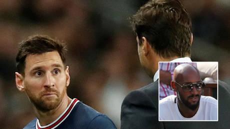 Nicolas Anelka (inset) has spoken about Lionel Messi's future at Paris Saint-Germain © Benoit Tessier / Reuters | © Gonzalo Fuentes / Reuters