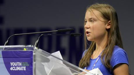 'Blah, blah, blah': Greta Thunberg rips 'empty' slogans like 'Build Back Better' in climate change speech - rt