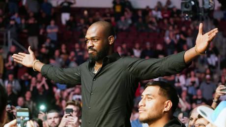 UFC star Jon Jones was arrested in Las Vegas last week. © USA TODAY Sports