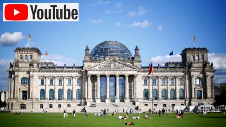 Reichstag building in Berlin, © Reuters / JOACHIM HERRMANN; (inset) © Wikipedia
