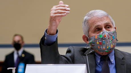 Dr. Anthony Fauci testifies before the House Select Subcommittee on Capitol Hill