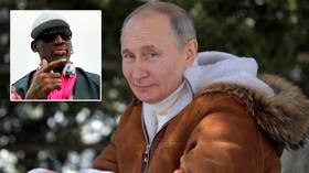 Russian president Putin is 'cool as f*ck', NBA icon Rodman reveals as he hails 'hot-ass' Russian women, Kim Jong-un, Donald Trump