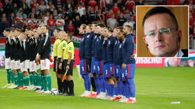 Hungarian foreign minister makes dig at England players over anthem booing – as fan ban pledge by FA makes no mention of racism