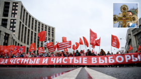 Opium of the masses: Russia's Communists are flirting with faith in God but, in upcoming elections, can they hope for a miracle?