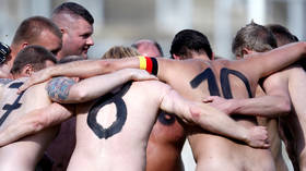 Naked football match organizer 'euphoric' after stunt in Germany protesting against Qatar World Cup and body-shaming goes viral