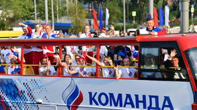 Motors for medals: Russia's Olympic prizewinners to be rewarded with fleet of brand new cars at official Kremlin ceremony