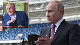 Russia has critics because Putin is strong and should work with the US as 'political protagonists' – ex-FIFA boss Blatter (VIDEO)