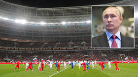 Putin warns Russia will not play football at the Olympics for decades if clubs go ahead with plan to axe limits on foreign players