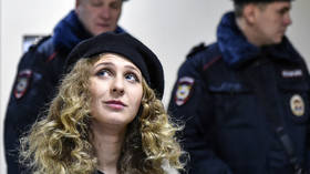 Pussy Riot's Alyokhina given one year of 'restricted freedom' as another Russian opposition figure is convicted in 'sanitary case'