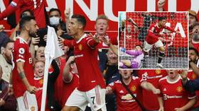 'This is adorable': Football fans touched by Ronaldo mother's heartwarming viral reaction to son's goal on Man Utd return